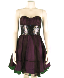 Betsey Johnson Royalton Strapless Flare Dress